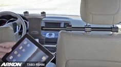 iPad Air Headrest Mount for Centered Backseat Viewing iPad 3 and iPad 2 ...