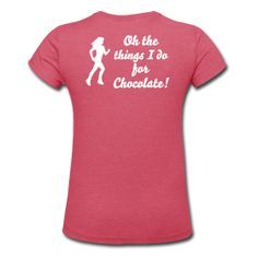 Create custom t-shirts, personalized shirts and other customized apparel at Spreadshirt. Print your own shirt with custom text, designs, or photos. Funny Running Shirts, Gym Shirts, Workout Shirts, Running Women, Woman Running, Running Costumes, Funny Messages, Personalized Shirts, I Work Out