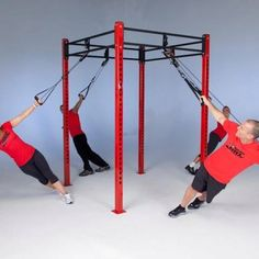 Crosscore 180 rotational Bodyweight training rack system  Body weight training everything in one rack!  Www.btbfitness.ca