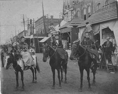 1899 Ft. Smith Parade | Flickr - Photo Sharing! Old Photographs, Old Photos, Fort Smith Arkansas, Old Fort, American Frontier, Cowboy And Cowgirl, My Heritage, Wild West, The Past