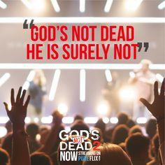 Speak up for God today! Beloved Movie, Inspirational Movies, Gods Not Dead, Gives Me Hope, 2 Movie, Jesus Loves Me, Do Everything, Movie Trailers, Jesus Christ
