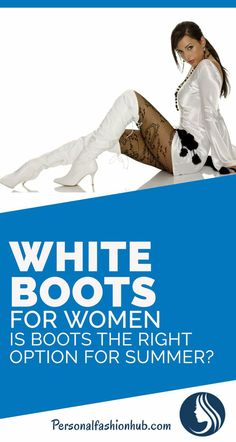 White Boots For Women: Is Boots The Right Option For Summer? There was a time, when women used to pack away their winter clothes and accessories which included boots, to use lighter footwear during summer. Fashion Hub, Fashion Tips For Women, Winter Clothes, Winter Outfits, Stylish Boots, White Boots, Fall Sweaters, Winter Wear, Lighter