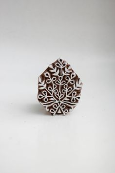 SALE Hand Carved Indian Wood Block Stamp by TATAindianwoodstamps, $9.50