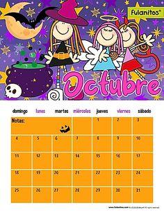 Monday Tuesday Wednesday, Homeschool, Victoria, Journal, Love, Disney, Granddaughters, October Calendar, Calendar For Kids