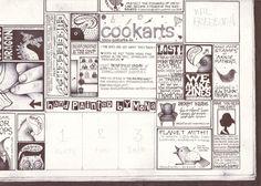 Hand drawn ads in my next zine. $15.00, via Etsy.