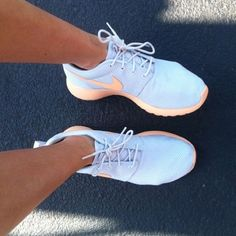 Authentic nikes Canvas Shoes Attractive Pink And Orange Amazing