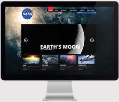 NASA: Alternative Design by Enes Danış, via Behance