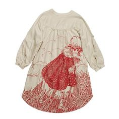 Paperwings Red Meadow Girl Shirt Dress'  by 'Butterscotch'  http://downthatlittlelane.com.au