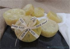 Sabonete Bucha Vegetal - Aromah - Saboaria Artesanal