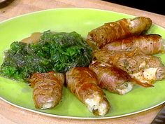 Veal Rolls with Pancetta recipe from Rachael Ray via Food Network