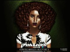 Simtric Whitley Afro Hair for The Sims 4