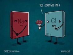 Read funny chemistry jokes, chemistry puns and chemistry pick up lines. Laugh with Chemistry Jokes for free! Chemistry Puns, Chemistry Classroom, Science Puns, Teaching Chemistry, Science Cartoons, Nerd Humor, Physical Science, Nerdy, Geek Stuff