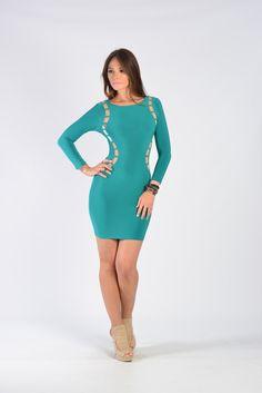 Disposition Dress - Green