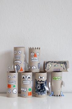 UKKONOOA: Robottiaskartelua / Rainy Day Robot Craft