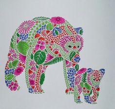 Millie Marotta's Bears.
