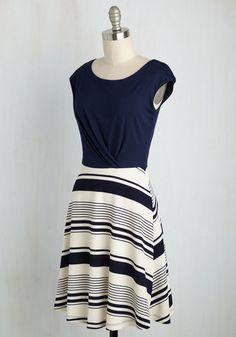 Ramen Rendezvous Dress in Stripes | Mod Retro Vintage Dresses | ModCloth.com