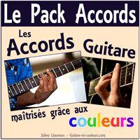 Apprendre la guitare - les accords