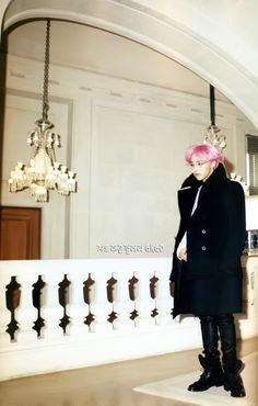 G-Dragon (Big Bang) for Harper's Bazaar 08/2012