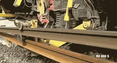 Say Hello To The Big Bad Machine That Lays Down Railroad Track