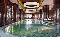 Pool at Swissotel Tallinn