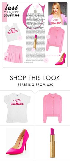 """""""On Tuesdays, we wear pink♥.. #124"""" by rania-horan-stylinson-palik ❤ liked on Polyvore featuring Miu Miu, Office and Too Faced Cosmetics"""
