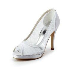 Zapatos de novia con plataforma para tu matrimonio