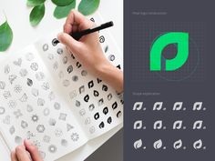 Assetly Logo Sketches designed by Ramotion. Connect with them on Dribbble; the global community for designers and creative professionals. Nature Symbols, Jesus Is Risen, Logo Sketches, App Logo, Branding Agency, Monogram Logo, Sketch Design, Letter Logo, Lettering Design