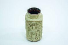 Scheurich 282-20 vase decor Jura, W. Germany vase, vintage West German pottery Scheurich Keramik