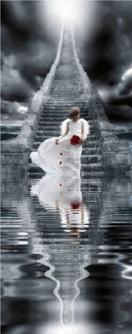 Animated Angels, Reflections, Water Reflections, Angels, Reflection, Keefers gif by Keefers_ | Photobucket