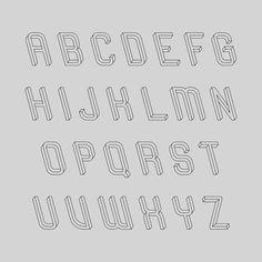 Mind-bending typeface