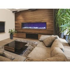 amantii built in electric fireplace 72 deep