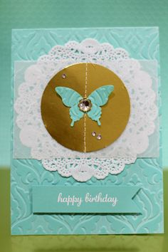 Love all the beautiful texture on this elegant card by Carli Ambrose