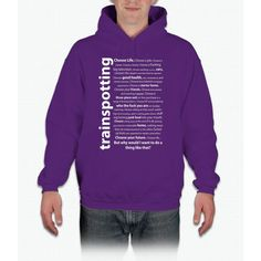 Trainspotting Quotes Hoodie