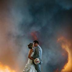 Definitely not your #basic wedding photos ...uh, WOW