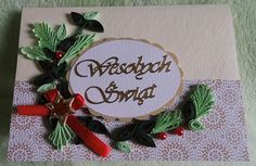 Moja pasja: Kartki na Boże Narodzenie
