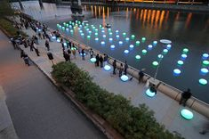 Floating Glowing seats