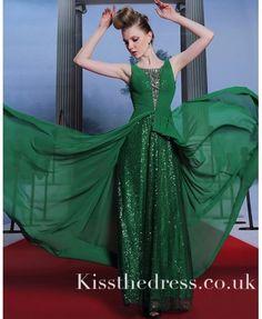 prom dress,green htt