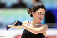 News Photo : Evgenia Medvedeva of Russia is seen at a practice...
