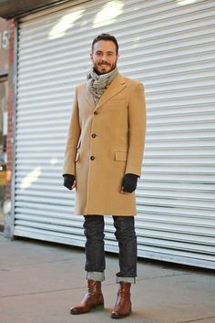 How to Wear a Camel Overcoat looks & outfits) Mens Fashion Casual Shoes, Mens Fashion Week, Mens Fashion Suits, Fashion Night, Winter Fashion, Men's Fashion, Fashion Ideas, Fashion Black, Vintage Fashion