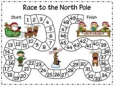 "FREE MATH LESSON - ""Christmas Math - Race to the North Pole"" - Go to The Best of Teacher Entrepreneurs for this and hundreds of free lessons. Pre-Kindergarten - Grade www. Christmas Activities, Christmas Themes, Christmas Maths, Xmas, Kindergarten Activities, Pre Kindergarten, Kindergarten Christmas, Theme Noel, Free Math"