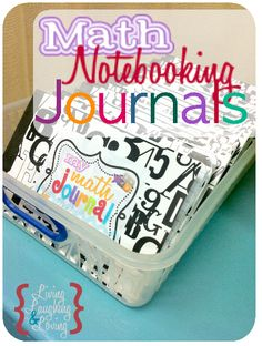 I love the idea of Math Journaling and Notebooking.  There is something to be said for recording what you've learned in your own words to be referenced later.  What a great study tool that could be!