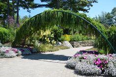 Entrance Arch- Lerner Garden of the Five Senses