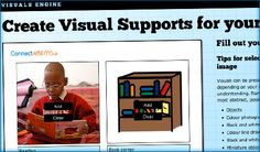 Great resource for creating visual supports!!