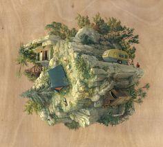 Reversed Architecture Paintings – Fubiz™