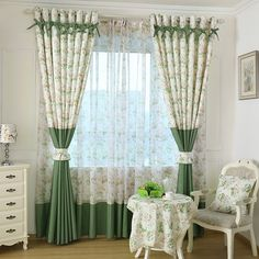 Rustic/Pastoral Window Curtain For Kitchen Blackout Curtains Window  Drape/ Panels/Treatment Home Decor Floral #>=#>=#>=#>=#> Click on the pin to check out discount price, color, size, shipping, etc. Save and like it!