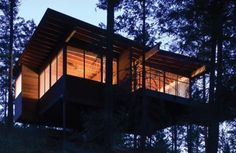 Dream Cabin on Flathead Lake Brings You Back to Nature - TEVAMI