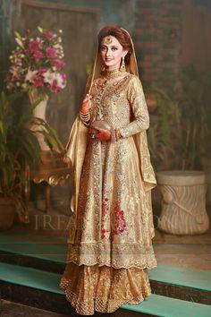 317a4c68a4 Latest Walima Dresses Designs & Trends Collection 2017-2018 Pakistani Dress  Design, Pakistani Bridal