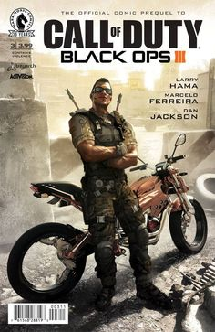 Call of Duty Black Ops III (2015) Issue #3