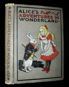 1900's Rare Conkey Edition - Alice's Adventures in Wonderland by Lewis – MFLIBRA - Antique Books