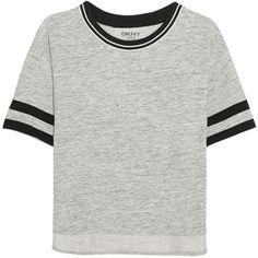 DKNY Avenue D cotton-blend jersey T-shirt, Women's, Size: M